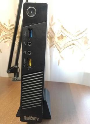 Мини ПК (Mini PC) Lenovo Thinkcentre M93p-tiny (i7-4765T/16Gb/...