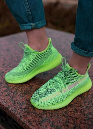 Adidas yeezy boost reflective женские кроссовки адидас изи бус...