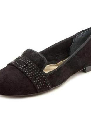 Туфли лоферы женские брэнд alfani makayla. замш. сша.