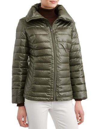 Женская пуховая стеганая куртка big chill . оригинал из сша.