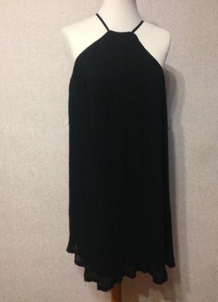 Платье жен. h&m шик! шифон,р.xs-m