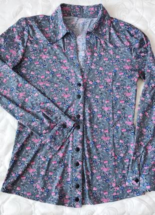 Стильная женская весенняя рубашка