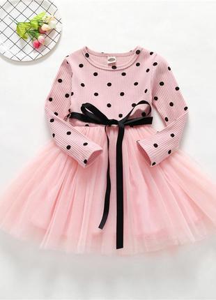 Нарядное красивое платье для принцессы