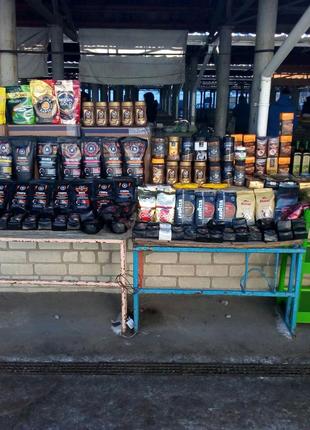 В продаже разные виды кофе зерновой, молотый, растворимий
