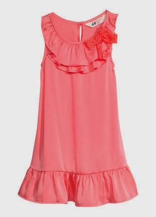 Платье нарядное h&m 2-3 года