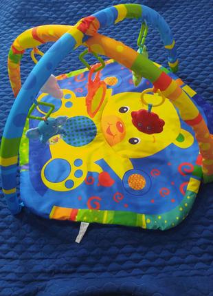 Развивающий коврик happy baby mat