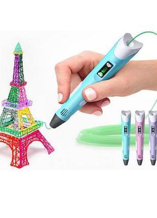 3D ручка pen 2 MyRiwell пластик ручка для рисования пластиком 3Д