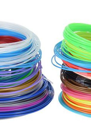 Набор пластика для 3D Ручки 15 цветов