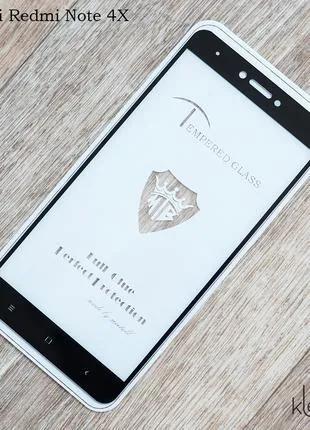 Защитное стекло Mietubl Full Glue для Xiaomi Redmi Note 4X