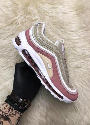 Стильные кроссовки 😍nike air max 97 pink beige😍
