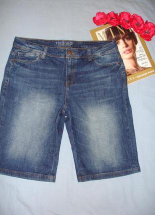 Шорты джинсовые женские размер 48 /14 стрейчевые