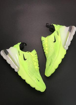 Стильные кроссовки 😍nike air max 270 green 😍