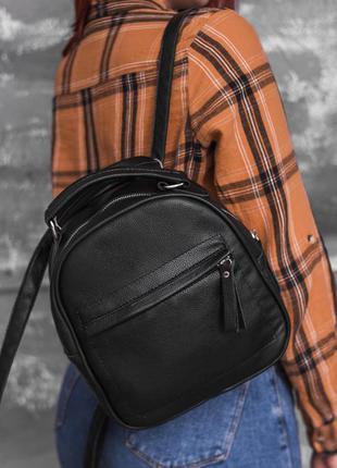 Кожаный рюкзак-трансформер, 5 расцветок!