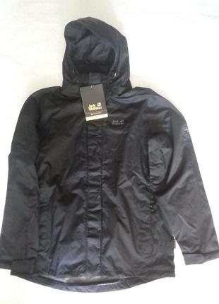 Чоловіча куртка штормовка jack wolfskin strokkur waterproof ор...