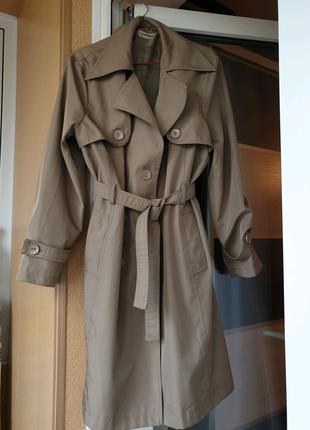 Весеннее пальто-плащ