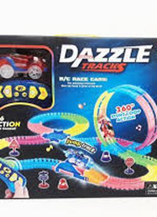 Гоночный автотрек с пультом управления Dazzle Tracks 136 (134 дет