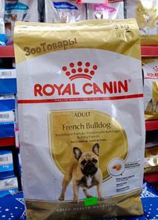 Royal Canin French Bulldog Adult 3кг/собаки породы французский...
