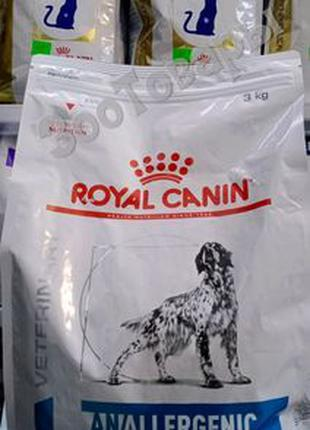 Royal Canin Anallergenic Canine 3кг Лечебный сухой корм для собак