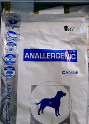 Royal Canin Anallergenic 8 кг/сухой корм Роял Канин Аналердженик