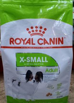 Royal Canin X-Small Adult 3кг/Роял Канин Х-смол адалт