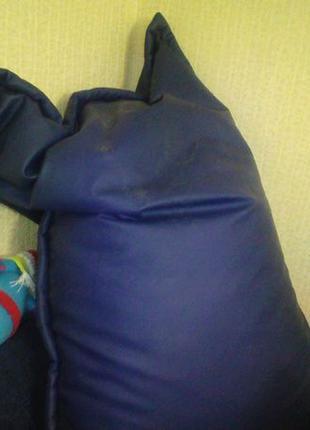 Кресло-мешок (130х90 см) синий