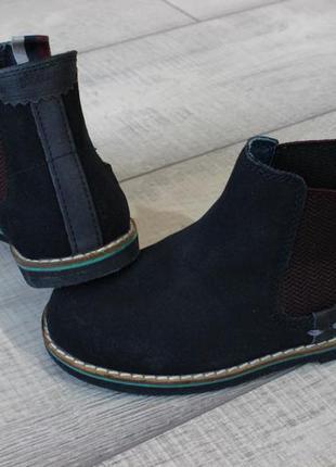 Ботинки челси ted baker натур. замш оригинал 27 размер