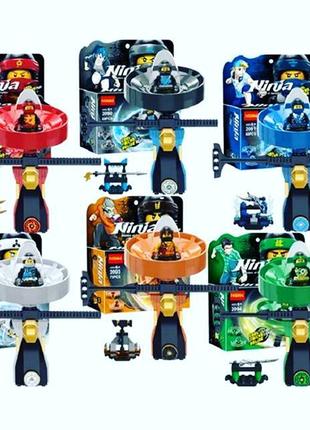 Лего ниндзяго наборы спиндзицу