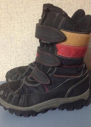 Термо ботинки geox tex,р.31,зима