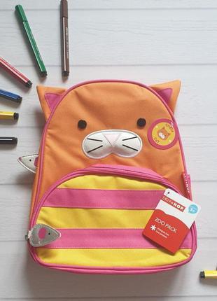 Skip hop, скип хоп детский рюкзак кошка 🔥акция!🔥 получи скидку 7%