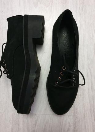 Туфли-ботинки (оксфорды-броги)