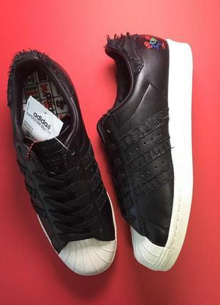 Стильные кроссовки 😍 adidas superstar black white 😍