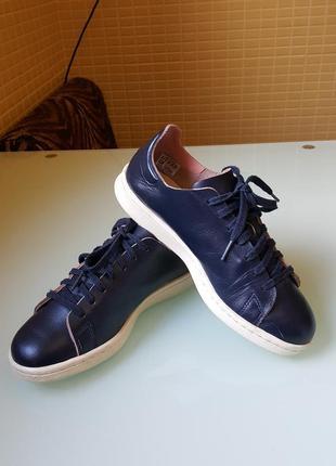 Женские кожаные кроссовки adidas оригинал