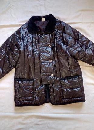 Черная курточка весна- осень