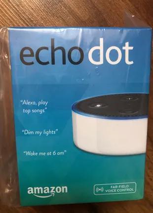Розумна колонка Amazon Echo dot