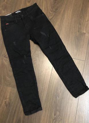 Черные джинсы для мальчиков
