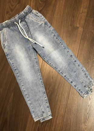Mom джинсы для девочек