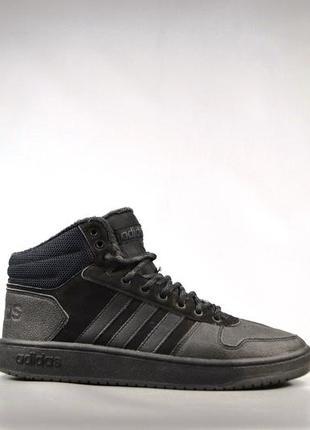 Мужские кроссовки adidas hoops 2.0 mid, р 45