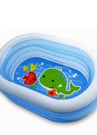 Детский надувной бассейн Intex 57482 Китенок 163х107х46 см