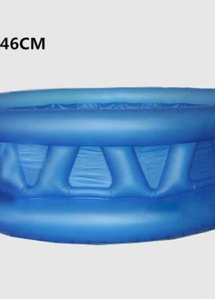 Надувной детский бассейн Intex 58431 Летающая тарелка 188х46 см