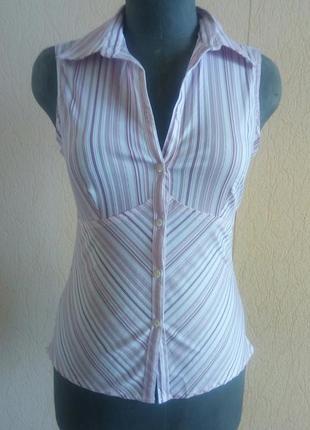 Нова фірмова блузочка, рубашка безрукавка