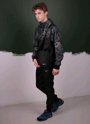 Камуфляж Спортивный костюм Найк  Nike: Ветровка Найк Nike + Штаны