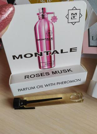 Roses musk montale 5мл
