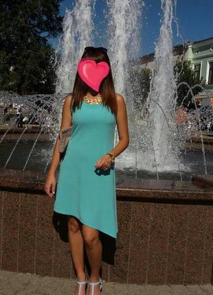 Дуже гарне асиметричне літнє плаття!