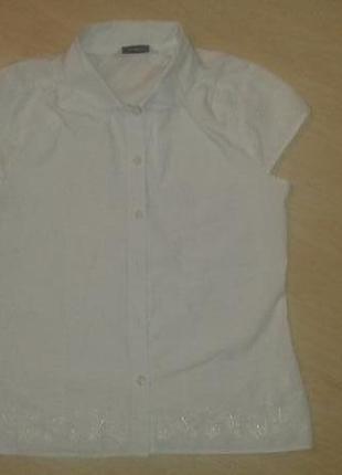 Школьная блуза на 9-11 лет.