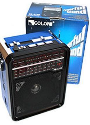 Радиоприёмник GOLON Портативный Радио Колонка приемник