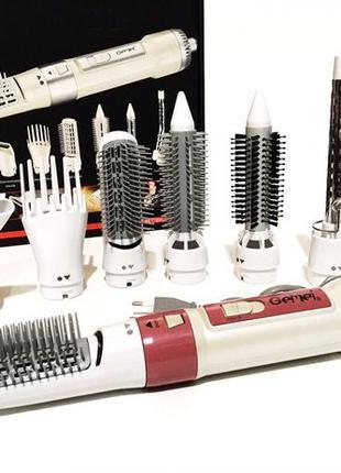 Фен для волос 7в1 Фен стайлер для волос Женский фен-щетка для ...