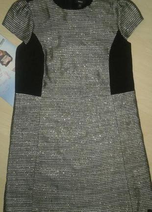 Стильное платье на 10 -12 лет.