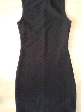 Строгое платье-футляр на 10-11 лет.
