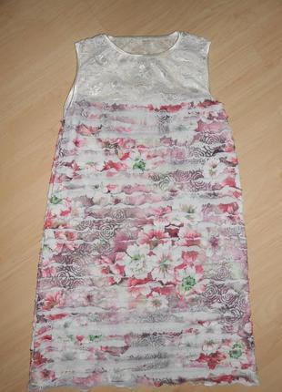 Нарядное платье на 10-12 лет.
