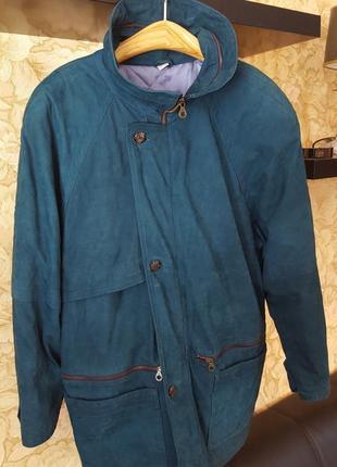 Дизайнерская кожаная куртка armand d'armand original italia